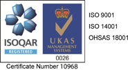 ISOQAR Registered | UKAS Management Systems